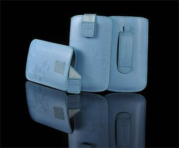PUZDRO DEKO 2, Svetlo Modrá, HTC HD2/Sensation/ONE V/ Sam i9000/i9100/S8530/S8600/i9070/S7530