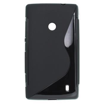 Puzdro gumené Nokia Lumia 520 čierna