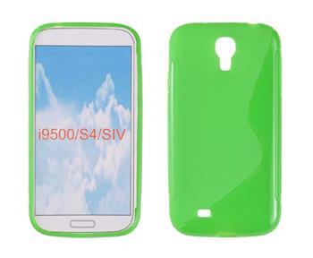 Puzdro gumené Samsung i9500 Galaxy S4 zelené