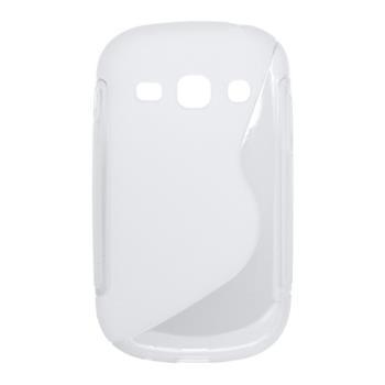 Puzdro gumené Samsung S6810 Galaxy Fame transparent