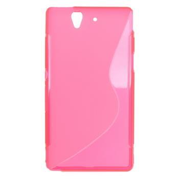 Púzdro gumené Sony Xperia Z C6603 ružová