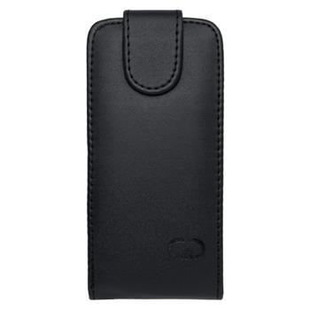 Puzdro Samsung Galaxy S3 mini i8190/i8195/i8200VE, knižka čierna