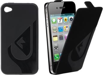 QuikSilver Set Pouzder pro iPhone 4/4S Black (EU Blister)