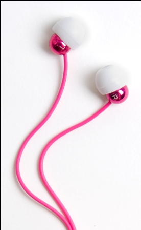 Radiopaq Dots Stereo Headset 3,5mm Pink (EU Blister)