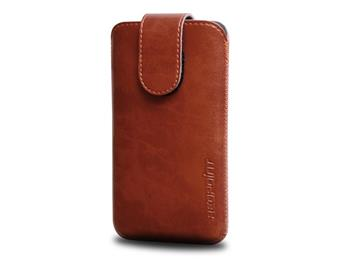Red Point pouzdro Bridge BE-02(04) pro Apple iPhone 4/ 4S - Brown