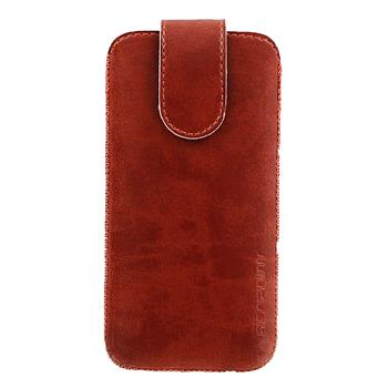 Red Point pouzdro Bridge BE-02(10) pro Apple iPhone 5 - Brown