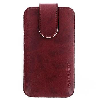 Red Point pouzdro Bridge BE-03(04) pro Apple iPhone 4/ 4S - Bordeaux