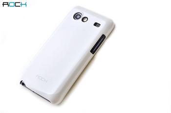 ROCK Color Shell Pouzdro pro Samsung i9070 White