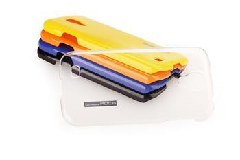 ROCK Extra Strong Zadní Kryt pro Samsung i9500 Galaxy S4 Transparent