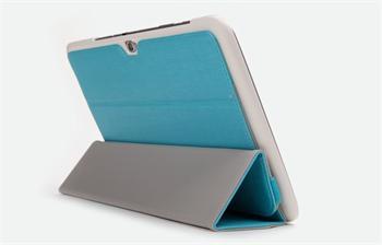 ROCK Flexible Kožené Pouzdro Green pro Samsung Galaxy Note N8000/N8010