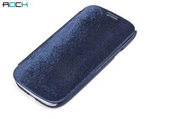 ROCK Flip Kožené Pouzdro pro Samsung i9300 Galaxy S3 Dark Blue