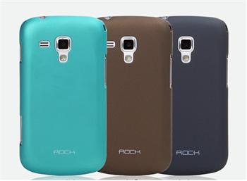 ROCK Hard Shell Zadní Kryt pro Samsung S7562 Galaxy S Duos Dark Grey