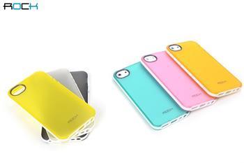 ROCK JoyFul TPU Pouzdro pro iPhone 5, 5S, SE Yellow