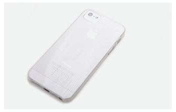 ROCK Texture Extra Tenký 0,5mm Zadní Kryt pro iPhone 5/5S/SE Transparent