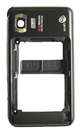 Samsung D980 Black zadní kryt