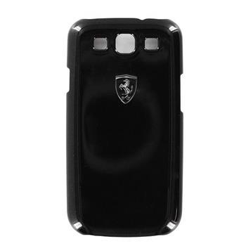 Samsung (i9300/S3 i9301 Neo) Galaxy S3 FESIHCS3BL Ferrari Zadní Kryt Metallic Čierne Scuderia