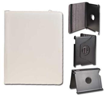 Samsung P5100, P7500, P7510 Galaxy Tab2 10,1 palca, Knižkové púzdro DE LUXE, Biele