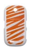 Samsung S3650corby kryt baterie White Orange (Bulk)