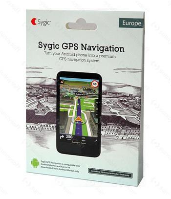 Sygic GPS Navigation - 45 krajín Európy - Voucher - Bez potreby internetu, doživotná aktualizácia zdarma ! (8586015430152) (21865)