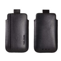TelOne City Pouzdro Čierne pro Nokia 6303, X3-02
