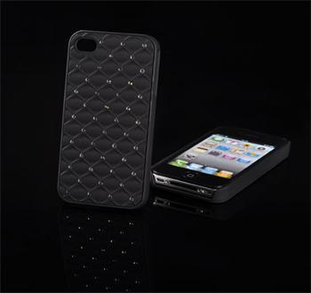 Tvrdé puzdro Diamond Samsung ACE 2, i8160, Čierny