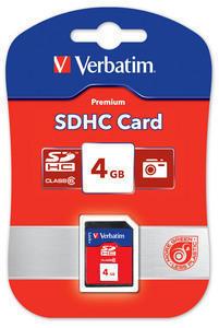 Verbatim SDHC 4GB Class 4 (SKITVERB44016)