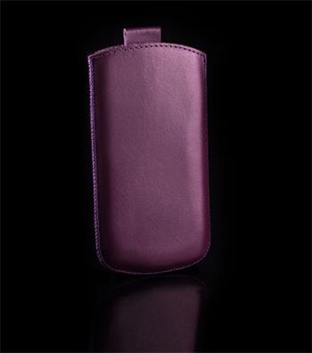 Vsuvka Pravá Koža Future Samsung i8190, S3 mini i8200 VE fialová